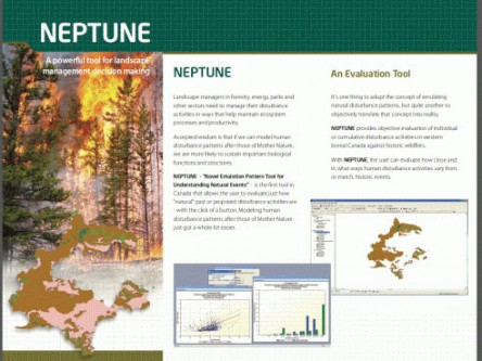 NEPTUNE Spatial Decision Support Tool