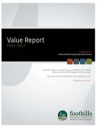 Value Report 2012-13: Achievements Supporting Govt