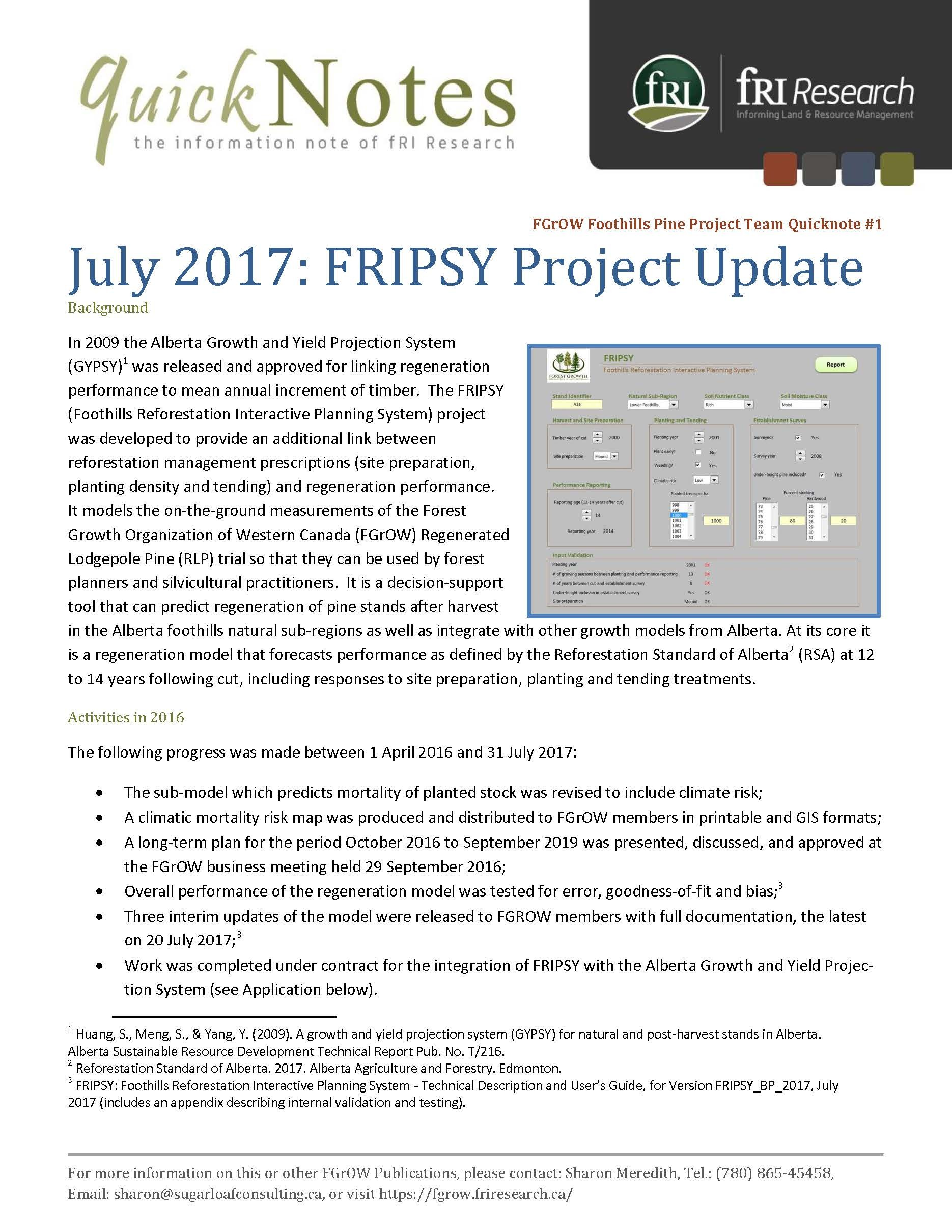 fgrow quicknote fripsy project update july 2017 forest growth rh fgrow friresearch ca Online User Guide Kindle Fire User Guide